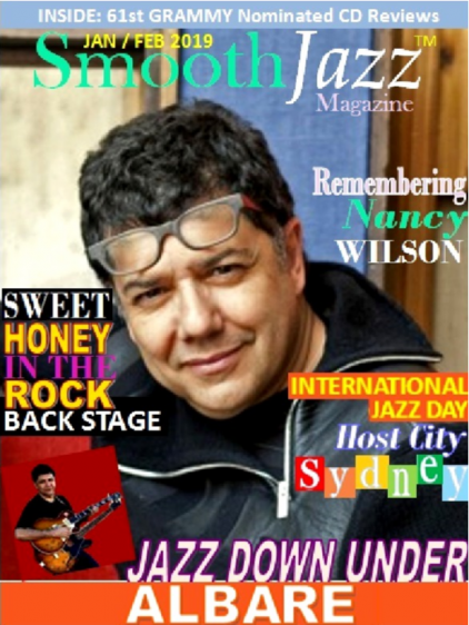 Albare Featured On The Cover Of Smooth Jazz Magazine (USA)